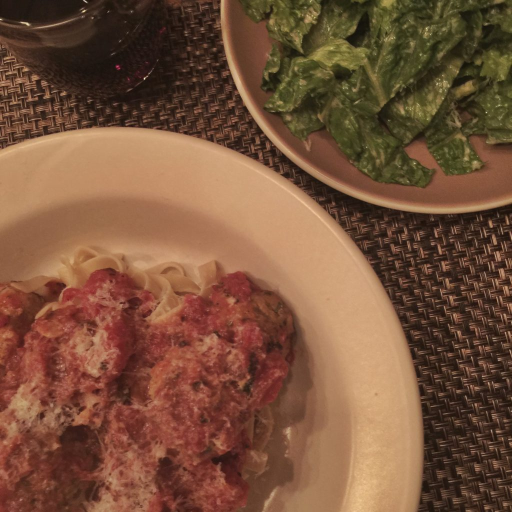 plated-meatballs